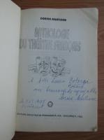 Anticariat: Dorina Munteanu - Anthologie du theatre francais (cu autograful autoarei)