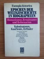 Anticariat: Exempla historica epochen der Weltgeschichte in biographien