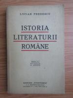 Lucian Predescu - Istoria literaturii romane (1939)