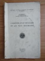 N. Banescu - L'ancien etat bulgare et les pays roumains