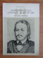 Anticariat: Petru Munteanu - Monogafia liceului Gheorghe Lazar din Sibiu