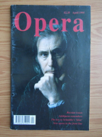 Anticariat: Revista Opera, volumul 46, nr. 4, aprilie 1995