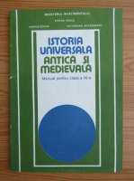 Anticariat: Stefan Pascu - Istoria universala antica si medievala. Manual pentru clasa a IX-a (1994)