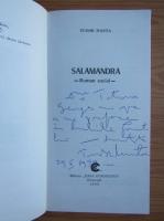 Anticariat: Tudor Manta - Salamandra (cu autograful autorului)