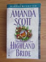 Anticariat: Amanda Scott - Highland bride