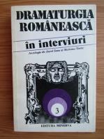 Anticariat: Dramaturgia romaneasca in interviuri (volumul 3)