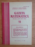 Gazeta matematica, anul LXXXVII, nr. 11, 1982