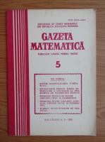 Anticariat: Gazeta matematica, anul LXXXVII, nr. 5, 1982