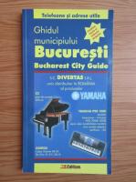 Anticariat: Ghidul municipiului Bucuresti. Contine harta si indexul strazilor