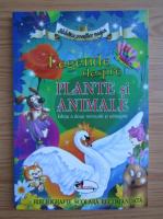 Legende despre plante si animale