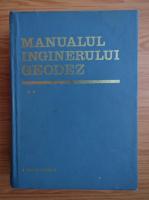 Manualul inginerului geodez (volumul 2)