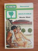 Anticariat: Nicola West - Devil's gold