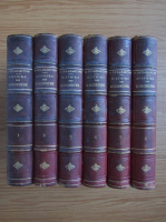 Anticariat: A. de Lamartine - Histoire des girondins (1860, 6 volume)