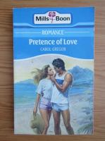 Carol Gregor - Pretence of love