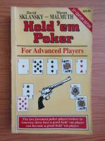 Anticariat: David Sklansky - Hold 'em poker for advanced players