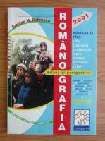 Anticariat: Emilian M. Dobrescu - Romanografia. Bilant si perspective