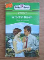 Anticariat: Emma Richmond - A foolish dream