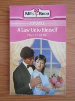 Anticariat: Frances Roding - A law unto himself