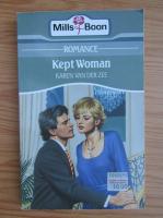 Anticariat: Karen Van Der Zee - Kept woman