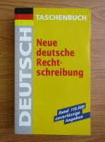 Anticariat: Neue deutsche Rechtschreibung