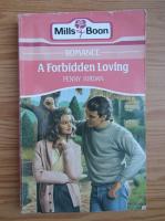 Anticariat: Penny Jordan - A forbidden loving