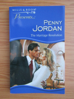 Anticariat: Penny Jordan - The marriage resolution
