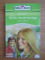 Anticariat: Penny Jordan - The six-month marriage