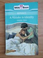 Sandra Field - A mistake in identity