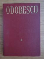 Anticariat: Alexandru Odobescu - Opere (volumul 10)