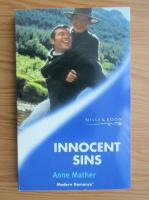 Anticariat: Anne Mather - Innocent sins