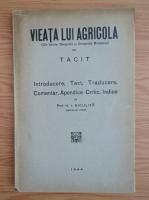 Anticariat: I. Niculita - Viata lui Agricola (1944)