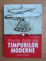 Anticariat: Jean Delorme - Marile date ale timpurilor moderne