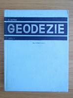 Anticariat: Marcel Botez - Geodezie (volumul 1)