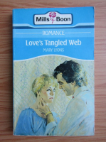 Anticariat: Mary Lyons - Love's tangled web