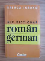 Raluca Iordan - Mic dictionar roman-englez