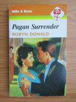 Anticariat: Robyn Donald - Pagan surrender