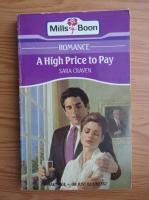 Sara Craven - A high price to pay