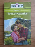 Anticariat: Sara Wood - Threat of possession