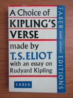 T. S. Eliot - A choice of Kipling's verse