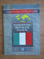 Anticariat: Constitutia Republicii Italiene