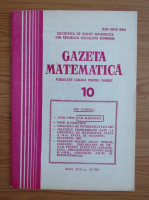 Anticariat: Gazeta Matematica, anul XCII, nr. 10, 1987