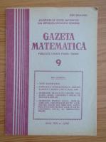Anticariat: Gazeta Matematica, anul XCII, nr. 9, 1987