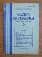 Anticariat: Gazeta Matematica, anul XCIII, nr. 2, 1988