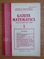 Anticariat: Gazeta Matematica, anul XCIV, nr. 1, 1989
