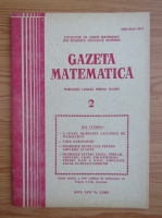 Gazeta Matematica, anul XCIV, nr. 2, 1989