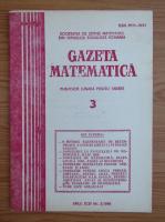 Anticariat: Gazeta Matematica, anul XCIV, nr. 3, 1989