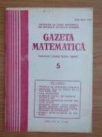 Anticariat: Gazeta Matematica, anul XCIV, nr. 5, 1989