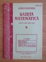 Anticariat: Gazeta Matematica, anul XCIV, nr. 6, 1989