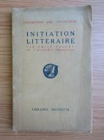 Anticariat: Initiation litteraire (1913)