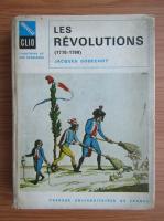 Anticariat: Jacques Godechot - Les revolutions